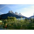 The Three Sisters Big Middle and Little Canmore Alberta