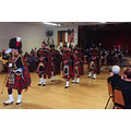 robert burns night dinner dance scottish bagpipers bagpipes
