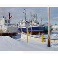 winter newfoundland boat