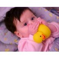 AnnaLeigh toy grandchildren rubberduck girl familylife baby