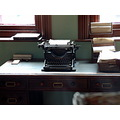 5/6 Preserved office at the Jackfield Tile Museum