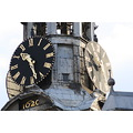 Clock Face Amsterdam Holland