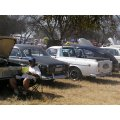 "Having a snack at the Pretoria ""Cars In The Park"" Club meet"