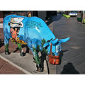denver denverfph downtown streetart street art cow sculpture tourism