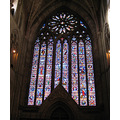 3. We took our guests to Worcester Cathedral - the rose window at the West end.