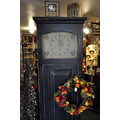 upstate newyork road autumn fall foliage antiques store clock