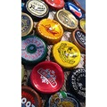 color bottlecap sit bottle cap nail hammer