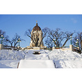 landmarkfriday winnipeg manitoba canada winter legislature goldenboy