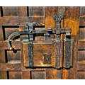 Door lock and latch Chester Cathedral