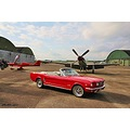 Ford Mustang Fly_n_ride Ljungbyhed 2011 Skane Sweden Red Cab