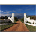 gordonsbay southafrica little foot farm entrance