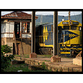 Train station in Louveira town! (little, very little town near my father�s countryside house)