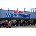 At 3:17pm.Canada's Wonderland-Park Entrance-On Saturday,Apr.28,2012 By Lisa Gallant