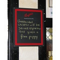 Another great sign for my collection.   This one I spotted while having lunch with friends yester...