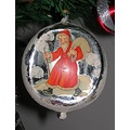 santa ornament antic 1943 noel christmas
