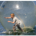 boy in a bubble