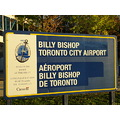 At 6:10pm.The Sign-Billy Bishop-Toronto,Ont.,On Saturday,Oct.12,2013