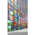 utrecht architecture facade glass colors lines perspective holland
