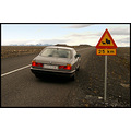 car cars sign landscape road yellow sheep bmw highway