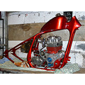 BSA bike motorcycle chopper
