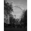 London Eye Black White Central UK England Candy Hell