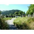 glandelough medival church ireland history ancient jaro wicklow cementary monks