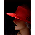 hat red lady