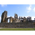 whitby abby church ruins