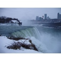 One of my favorite views of the US Niagra Falls with a hint of Canada across. Too bad it wasn't ...