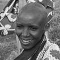 Maasai woman with a ready smile