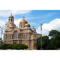 cathedral church orthodox christianity architecture Varna Bulgaria