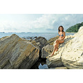girl woman wife portrait beach sea cliffs rocks varna bulgaria sb600
