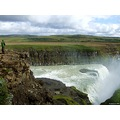 Waterfall landscape Gullfoss Iceland ftcompnature