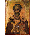 ICON SACRAL SAINT KLIMENT OHRIDSKY AVRAMOVHEMY