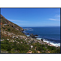 gordonsbay southafrica ocean mountains