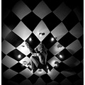 artistic portrait woman clock time light dark candles chess series keitology