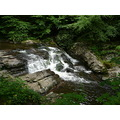 landscape waterfall water rocks tennessee