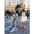 street performance Prague Bohemia