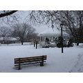 bandshell snow park bench