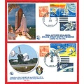 Space Shuttle stamps Alantis