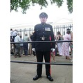 british army soilder trooping the colour