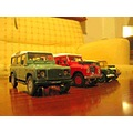 Land rover 143 scale model cars