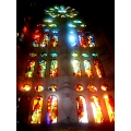 barcelona Stain window light gaudi sagrada familia spain