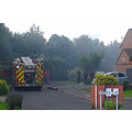 Bank Holiday weekend  The same day - excitement as two fire engines came dashing into our road ...