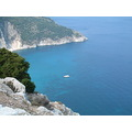 kefalonia holiday sea blue boat greece
