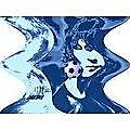 Lionel Messi soccer star art photo by paradiseblueart