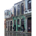 centro havana in the rain