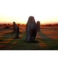 sunset hurlers stone circle bodmin moor archaeology cornwall