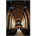 Tewkesbury Abbey in the county of Gloucestershire,England.