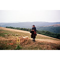 serbia golija mountain woman portrait nature people